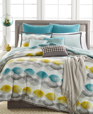 Closeout Kelly Ripa Home Longsdale 10Pc Reversible Queen Comforter Set Bedding