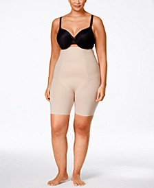 Women's  Thinstincts Plus Size Thinstincts High-Waisted Mid-Thigh Short 10006P