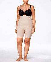 85b439f3c SPANX Women s Thinstincts Plus Size Thinstincts High-Waisted Mid-Thigh  Short 10006P
