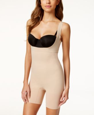 SPANX Midnight Firm Tummy-Control Open-Bust Bodysuit SS5615