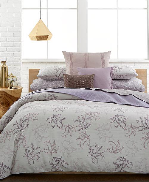 Calvin Klein CLOSEOUT! Mesa Bedding Collection