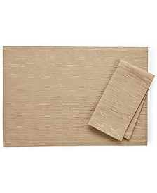 "Bardwil Continental Collection 19"" X 19"" Taupe Napkin"