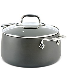 Hard Anodized 4-Qt. Soup Pot with Lid