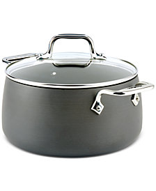 All-Clad Hard Anodized 4-Qt. Soup Pot with Lid