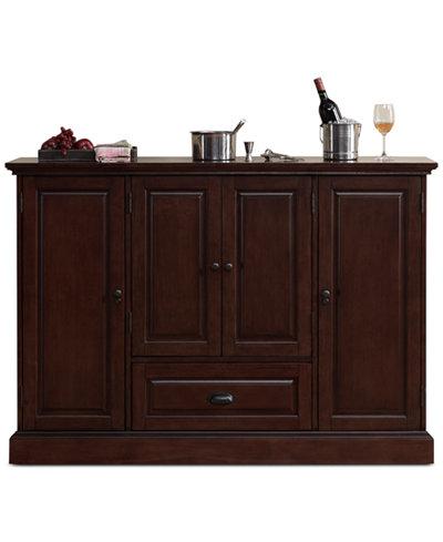 Carlotta Wine Cabinet, Quick Ship