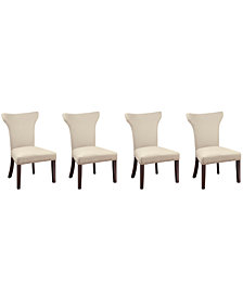 Sophia Dining Parsons Chair, Set of 4 (Natural)