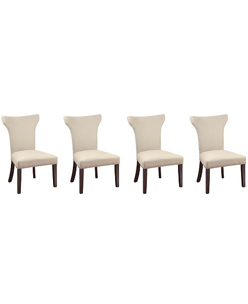 Macys Furniture Outlet Columbus: Furniture Sophia Dining Parsons Chair, Set Of 4 (Natural