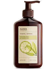 Ahava Mineral Botanic Velvet Body Lotion Lemon & Sage