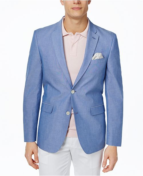 3a999d991 Tommy Hilfiger Chambray Extra Slim-Fit Sport Coat & Reviews ...