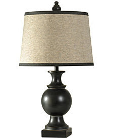 StyleCraft Noir Table Lamp