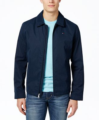 Tommy Hilfiger Men's Lightweight Full-Zip Jacket - Coats & Jackets ...
