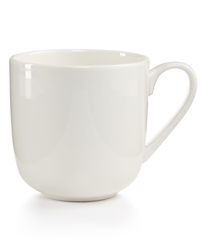 Martha Stewart Collection Whiteware Mug, Created for Macy's