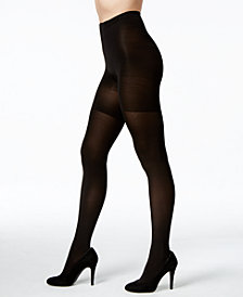 SPANX Women's  Banded Tummy Control Tights, also available in extended sizes