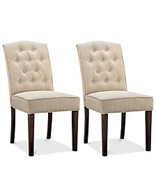 Grantley Set of 2 Dining Chairs, Quick Ship