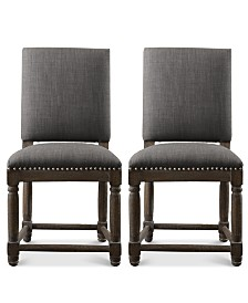 Coryn Set of 2 Dining Chairs, Quick Ship