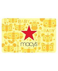 Macy's Baby E-Gift Card