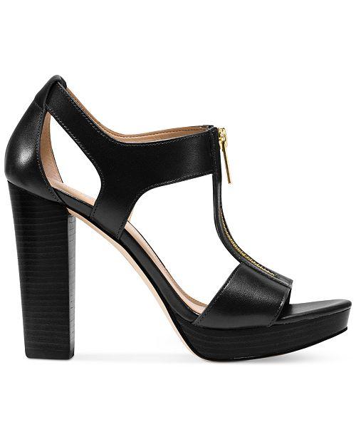 11a2d1cad99 Michael Kors Berkley T-Strap Platform Dress Sandals   Reviews ...