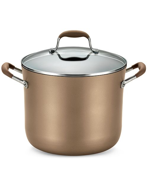 3a206f5cd2c ... Anolon Advanced Bronze Hard Anodized Nonstick 10-Qt. Stockpot with Lid  ...