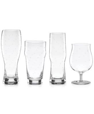 Larabee Dot Collection 4-Pc. Variety Beer Glasses Set