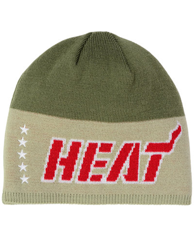 adidas Miami Heat Pride Jersey Hook Knit Hat