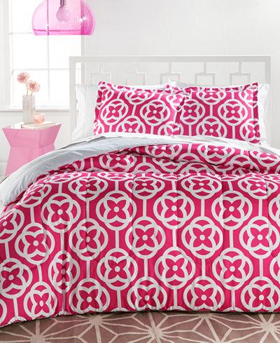 Chelsea 3-Piece Reversible Full/Queen Comforter Set