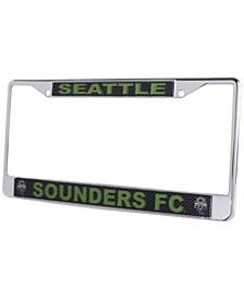 Seattle Sounders FC Carbon Laser License Plate Frame