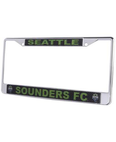 Stockdale Seattle Sounders FC Carbon Laser License Plate Frame ...