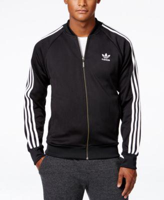 adidas Originals Mens Superstar Track Top Sportswear Mens Sportswear COLOUR-navy