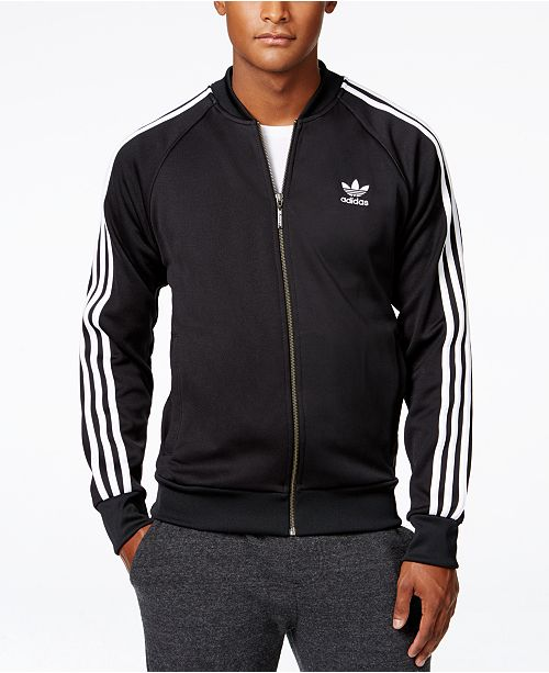 2071cec57019 adidas Men s Superstar Track Jacket   Reviews - Coats   Jackets ...