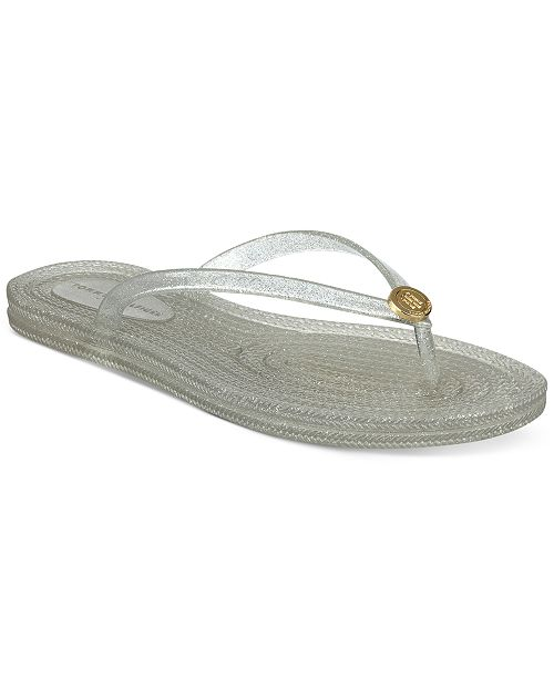9ba65970193 Tommy Hilfiger Girly Jelly Flip-Flop Sandals   Reviews - Sandals ...