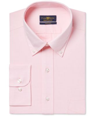 Image of Club Room Estate Classic-Fit Wrinkle Resistant Dress Shirt, Only at Macy's