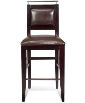 Park Avenue Chair Bar Stool  sc 1 st  Macyu0027s & Park Avenue Chair Bar Stool - Furniture - Macyu0027s islam-shia.org