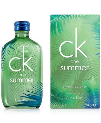 Calvin Klein ck one Summer Eau de Toilette Spray, 3.4 oz