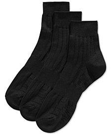 Perry Ellis Men's 3-Pk. Mid-Crew Socks