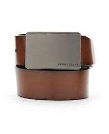 Portfolio Men's Leather Matte at Me Reversible Belt