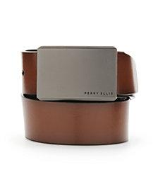 Perry Ellis Portfolio Men's Leather Matte at Me Reversible Belt