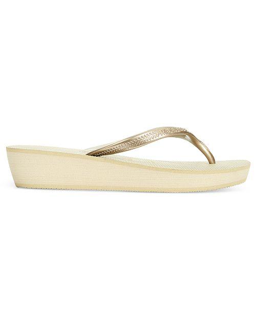 d582ccec07091c Havaianas Women s Highlight Wedge Flip-Flop Sandals   Reviews ...