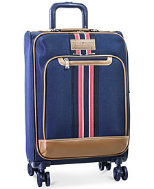 "Tommy Hilfiger Freeport 21"" Expandable Spinner Suitcase, Created for Macy's"