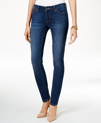 Tommy Hilfiger Classic Midnight Wash Skinny Jeans, Only at Macy's ...