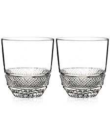 Waterford Town & Country Collection Riverside Drive Tumbler Glasses, Set of 2