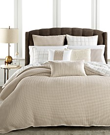 Hotel Collection Waffle Weave Duvet Covers, Created for Macy's