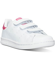 Little Girls' Stan Smith Casual Sneakers  from Finish Line
