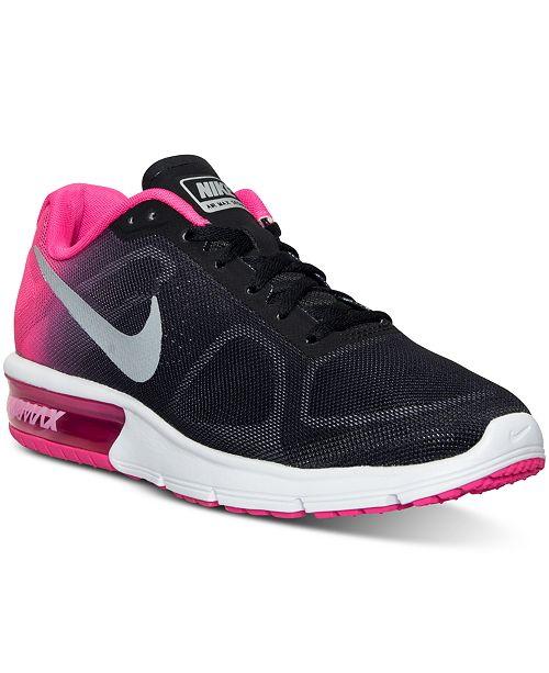 ... Nike Women s Air Max Sequent Running Sneakers from Finish Line ... ade9365aa