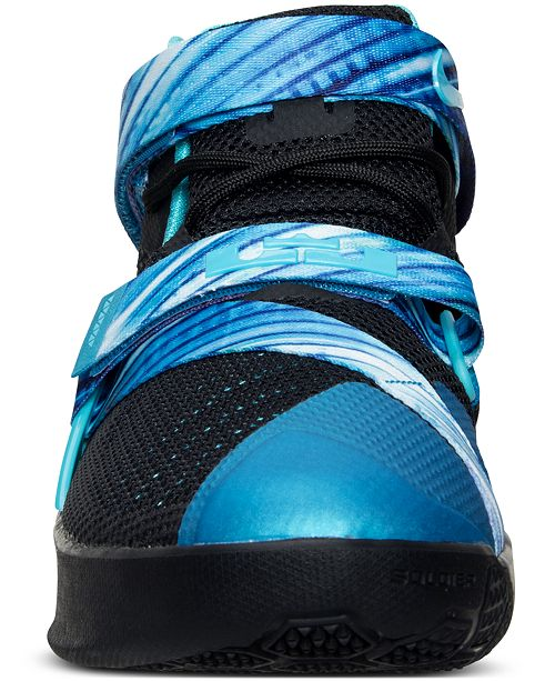 4725bc44378 ... Nike Big Boys  LeBron Soldier 9 Basketball Sneakers from Finish Line ...
