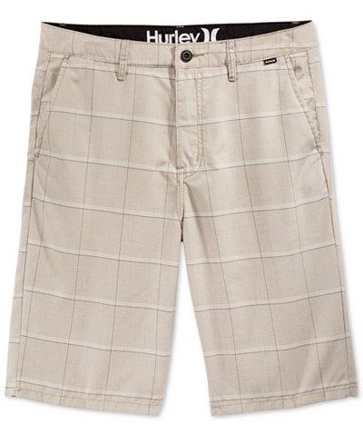 Hurley Men's Granada Plaid Shorts - Shorts - Men - Macy's