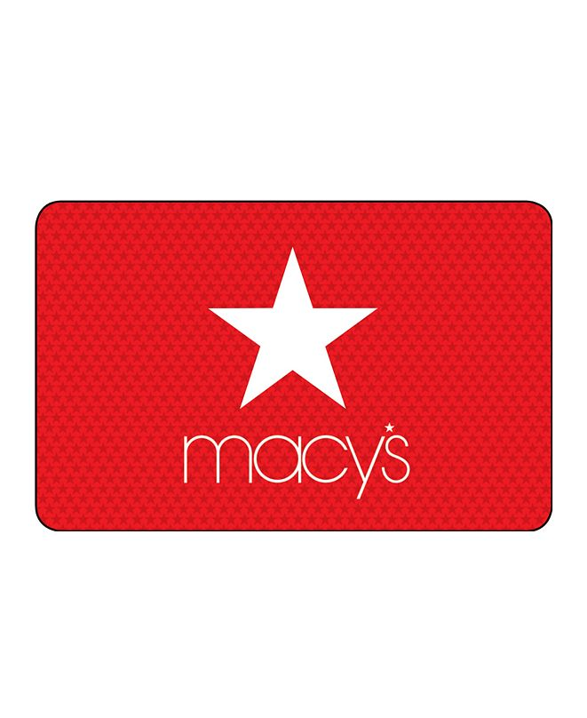 Macy's New White Star E-Gift Card