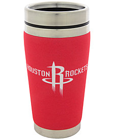Hunter Manufacturing Houston Rockets 16 oz. Stainless Steel Travel Tumbler