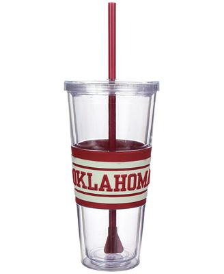 Boelter Brands Oklahoma Sooners 22 oz. Hyped Straw Tumbler