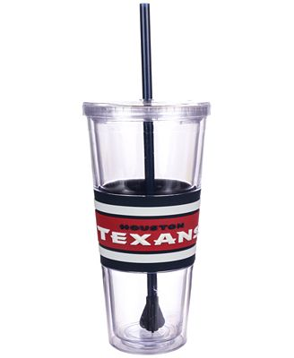 Boelter Brands Houston Texans 22 oz. Hyped Straw Tumbler