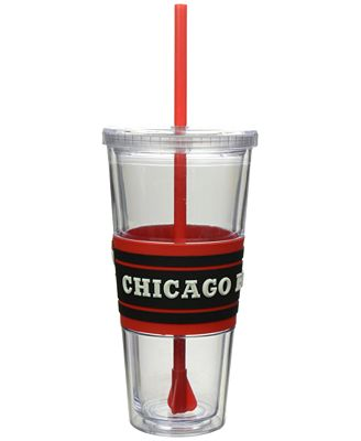 Boelter Brands Chicago Bulls 22 oz. Hyped Straw Tumbler